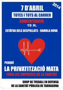CARTEL MANI 7 ABRIL 2014