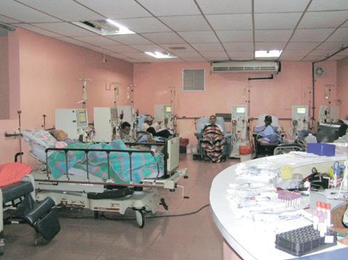 Centro de diálisis