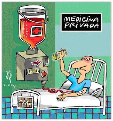 privatizacion de la sanidad