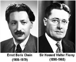 Howard Florey y Ernst Chain