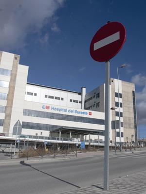Fachada del Hospital del Sureste, en la localidad madrileña de Arganda del Rey. - Guillermo Sanz
