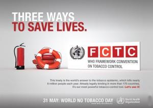 Día Mundial Sin Tabaco 2011