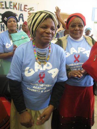 las abuelas africanas del sida