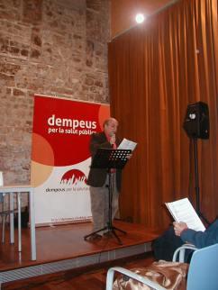 Presentació Llibre DEMPEUS Toni Barbarà