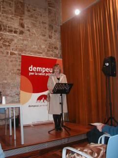 Presentació Llibre DEMPEUS Montserrat Lamarca