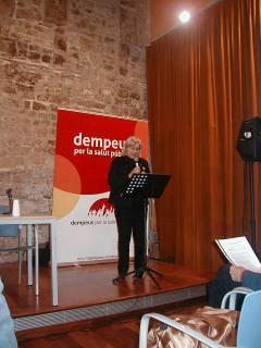 Presentació Llibre DEMPEUS Clara Valverde