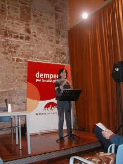 Presentació Llibre DEMPEUS Carme Borrell