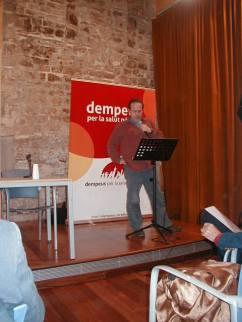 Presentació Llibre DEMPEUS Sergi Raventós