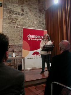 Presentació Llibre DEMPEUS Àngels Martínez