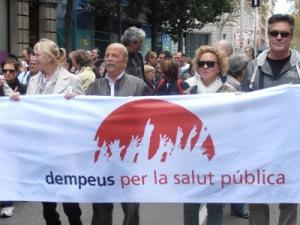 Gent Dempeus a la Mani de l'11 de l'11 del 12