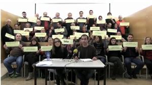 Roda de premsa del 10 de desembre a Reus