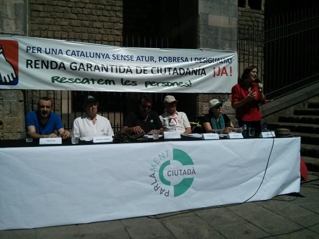 La mesa de l'assemblea