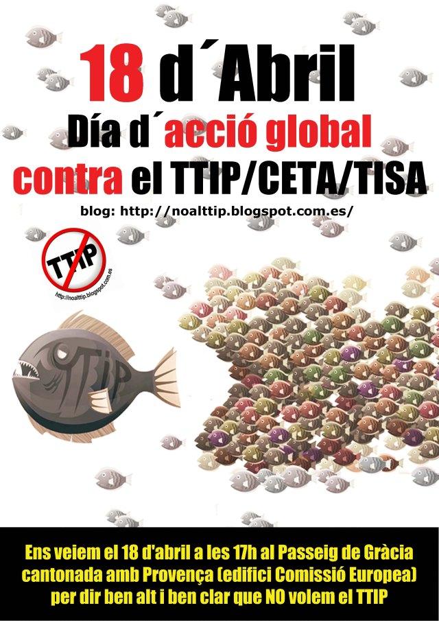 TTIP cartell 18 abril peixos